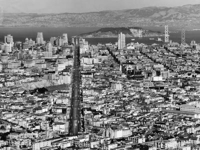 Aerial View of San Francisco--Photographic Print