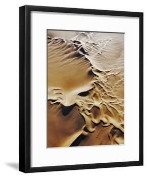 Aerial View of Sand Dunes-Martin Harvey-Framed Photographic Print
