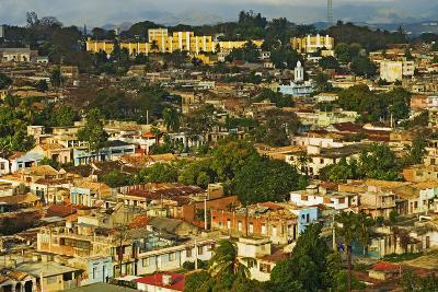 Aerial View of Santiago De Cuba, Cuba-Design Pics Inc-Photographic Print