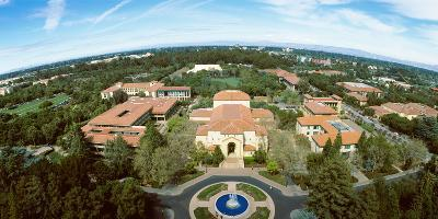 Aerial View of Stanford University, Stanford, California, USA--Photographic Print