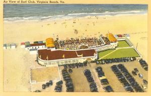 Aerial View of Surf Club, Virginia Beach, Virginia