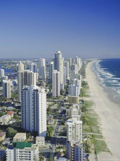 Aerial View of Surfers Paradise, the Gold Coast, Queensland, Australia-Adina Tovy-Photographic Print
