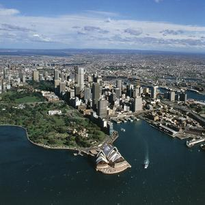 Aerial View of Sydney, New South Wales