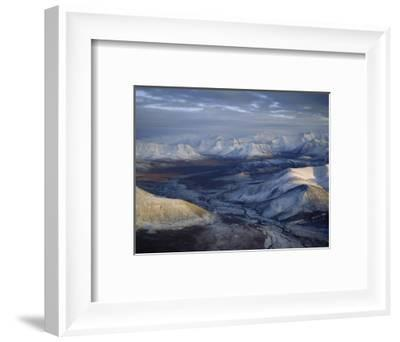 Aerial View of the Brooks Range at Twilight, Alaska-James P^ Blair-Framed Photographic Print