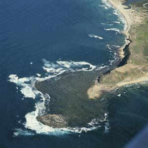 Aerial View of the Coast of New South Wales, Australia