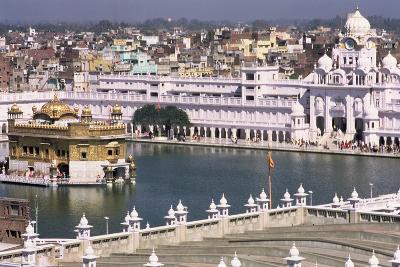 Aerial View of the Golden Temple from the Tower of Baba Atalti--Photographic Print