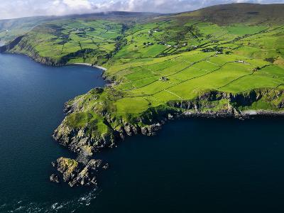 Aerial View of Torr Head on the North Antrim Coast-Chris Hill-Photographic Print