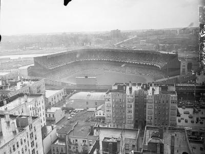Aerial View of Yankee Stadium--Photographic Print