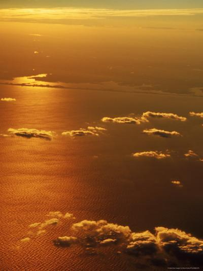 Aerial View, off the Coast of NY-Bruce Clarke-Photographic Print