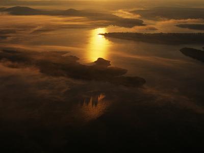 Aerials in Arkansas of the Buffalo River, Arkansas-Randy Olson-Photographic Print
