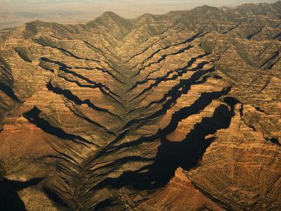 Aerials of Mountainous Ridges in Range Creek, Utah-Ira Block-Photographic Print