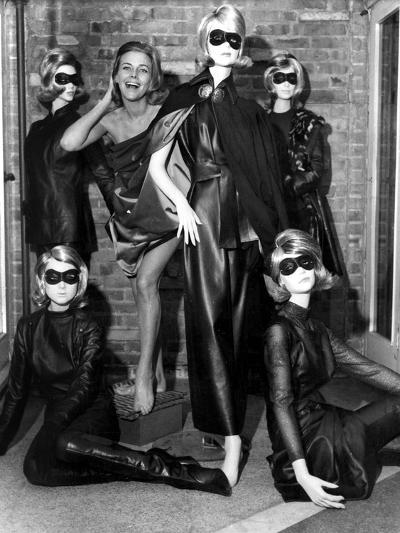 Aeries the Avengers with Honor Blackman, as Cathy Gale October 29, 1963--Photo
