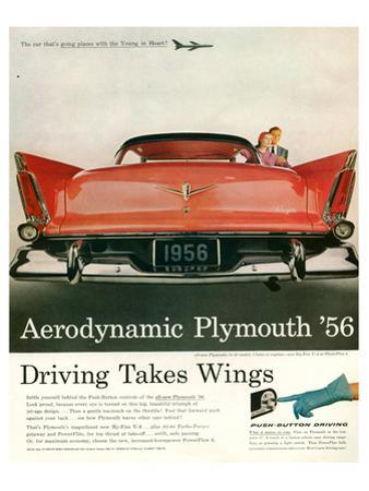 Aerodynamic Plymouth '56