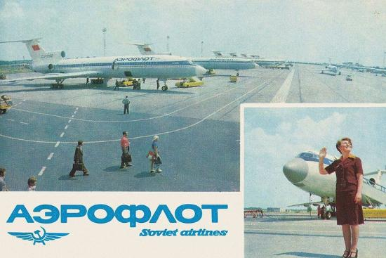 Aeroflot--Giclee Print