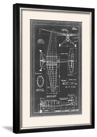 Aeronautic Blueprint IV-Vision Studio-Framed Photographic Print