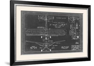 Aeronautic Blueprint VIII-Vision Studio-Framed Photographic Print