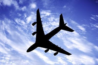 Aeroplane In Flight-Victor De Schwanberg-Photographic Print