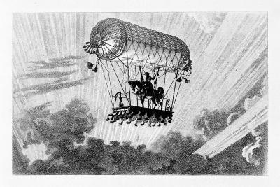 Aerostat, 1887-Gaston Tissandier-Giclee Print