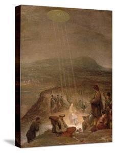 Baptism of Christ, C.1710 by Aert de Gelder
