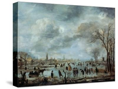 River View in the Winter, 17 Century