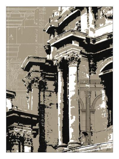 Aesthetic Design I-Ethan Harper-Art Print