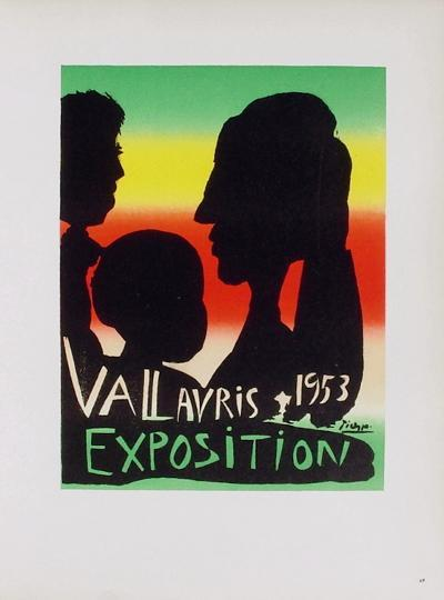 AF 1953 - Exposition Vallauris-Pablo Picasso-Collectable Print