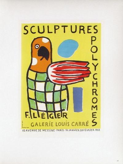 AF 1953 - Galerie Louis Carré-Fernand Leger-Collectable Print