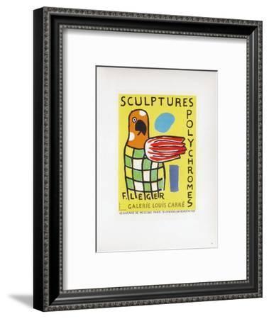 AF 1953 - Galerie Louis Carré-Fernand Leger-Framed Collectable Print