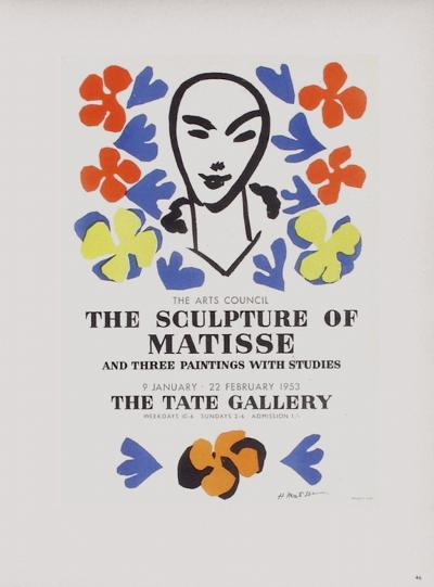 AF 1953 - The Tate Gallery-Henri Matisse-Collectable Print
