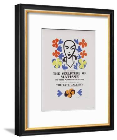AF 1953 - The Tate Gallery-Henri Matisse-Framed Collectable Print