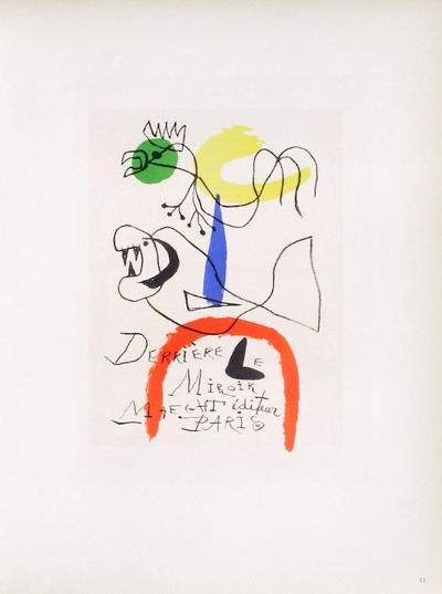 AF 1954 - Derriere Le Miroir-Joan Mir?-Collectable Print