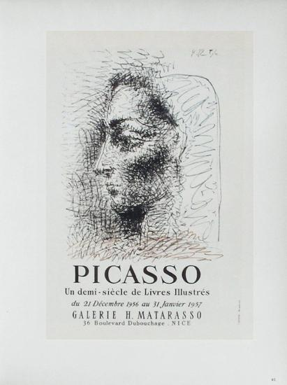 AF 1957 - Galerie Matarasso-Pablo Picasso-Collectable Print