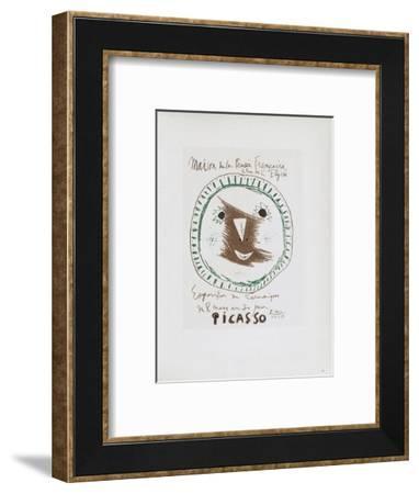AF 1958 - Picasso céramiques-Pablo Picasso-Framed Collectable Print