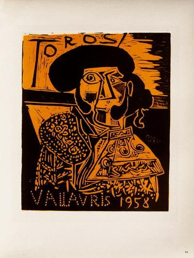 AF 1958 - Toros Vallauris-Pablo Picasso-Collectable Print