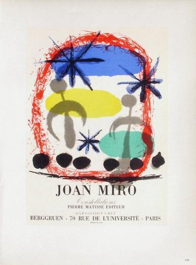 AF 1959 - Constellations Chez Berggruen-Joan Mir?-Collectable Print