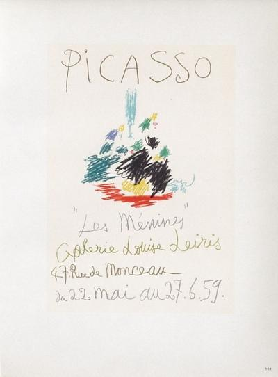 AF 1959 - Les M?nines-Pablo Picasso-Collectable Print