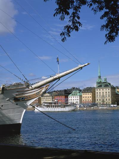 Af Chapman Sailing Ship (Youth Hostel), Stockholm, Sweden-Peter Thompson-Photographic Print