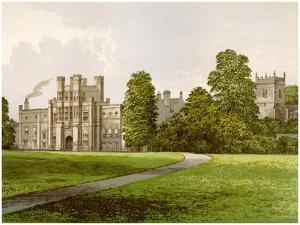 Coughton Court, Warwickshire, Home of Baronet Throckmorton, C1880 by AF Lydon
