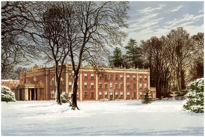 Cranbury Park, Hampshire, Home of the Chamberlayne Family, C1880