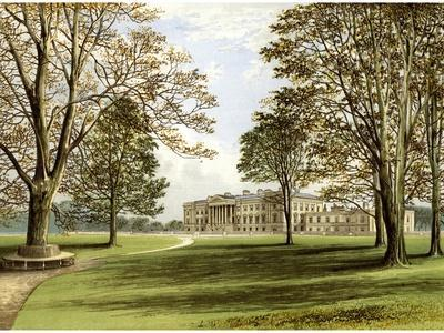 Hamilton Palace, South Lanarkshire, Scotland, Home of the Duke of Hamilton, C1880