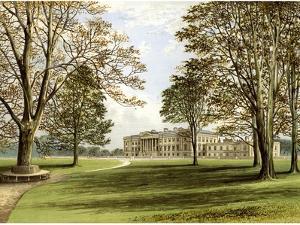 Hamilton Palace, South Lanarkshire, Scotland, Home of the Duke of Hamilton, C1880 by AF Lydon