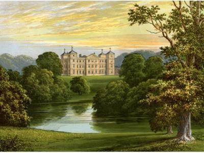 Kimberley Hall, Norfolk, Home of the Earl of Kimberley, C1880 by AF Lydon