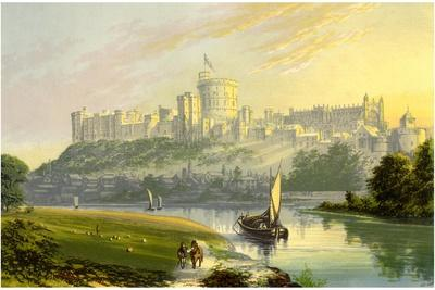 Windsor Castle, Berkshire, the Royal Residence, C1880