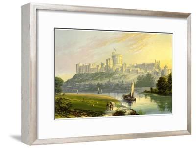 Windsor Castle, Berkshire, the Royal Residence, C1880
