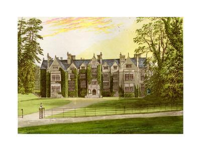 Wroxton Abbey, Oxfordshire, Home of the North Family, C1880