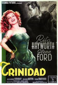 Affair in Trinidad, Italian Movie Poster, 1952
