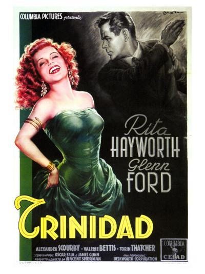 Affair in Trinidad, Italian Movie Poster, 1952--Art Print