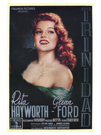 Affair in Trinidad, Italian Movie Poster, 1952--Art Print