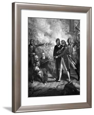 Affair of Teneriffe-W.h. Worthington-Framed Giclee Print