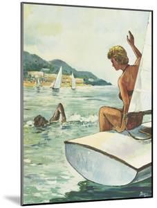 Affiche de Jacques Blein  Plages d'Algérie